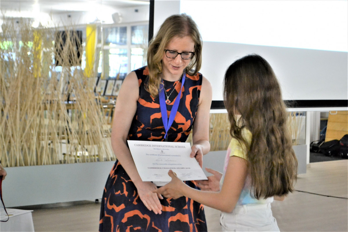 Cambridge Challenge Award 2019